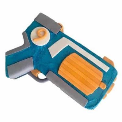 Bullet Blaster toy gun birthday cake DIY kit from Cake 2 The Rescue