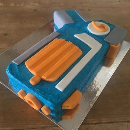 Enjoyable Bullet Blaster Cake Kit Boys Birthday Cakes Nerf Party Personalised Birthday Cards Veneteletsinfo
