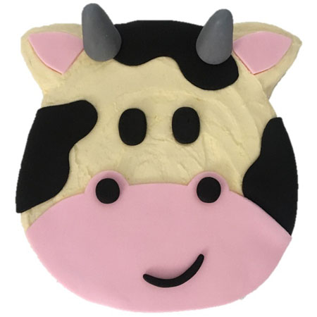 Cow birthday cake DIY kit from Cake 2 The Rescue