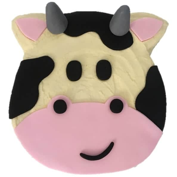 Outstanding Cow Birthday Cake Kit Cake 2 The Rescue Birthday Cards Printable Riciscafe Filternl