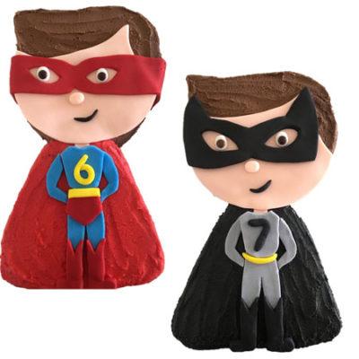 Superhero boy kids birthday cake DIY kit from Cake 2 The Rescue