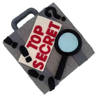 spy and secret agent birthday boy DIY cake kit from Cake 2 The Rescue