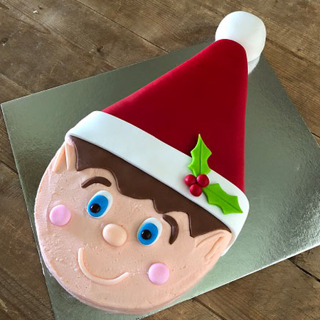 Cheeky Christmas Elf Cake Kit from Cake 2 The Rescue