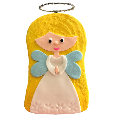 Christmas Angel cake DIY kit from Cake 2 The Rescue