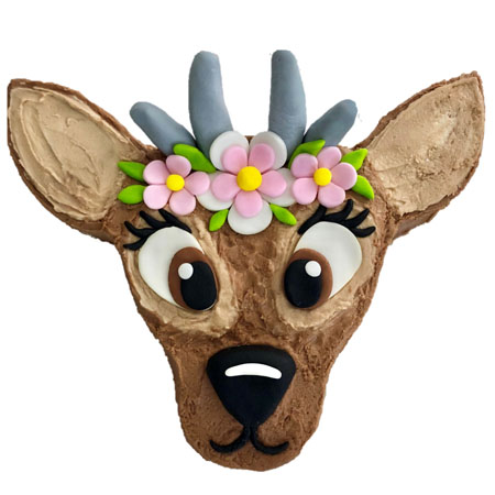 Deer birthday cake DIY kit from Cake 2 The Rescue