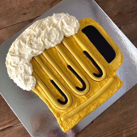 beer glass Father's Day cake DIY kit from Cake 2 The Rescue