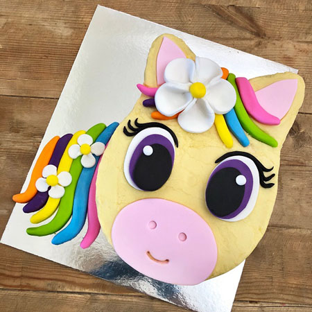 baby shower pony rainbow DIY cake kit from Cake 2 The Rescue