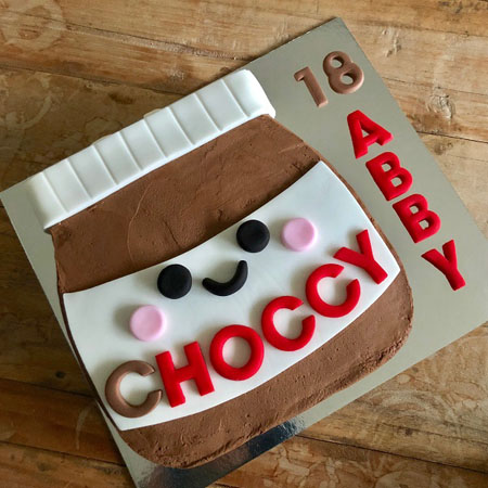 Chocoholics retirement cake kit from Cake 2 The Rescue
