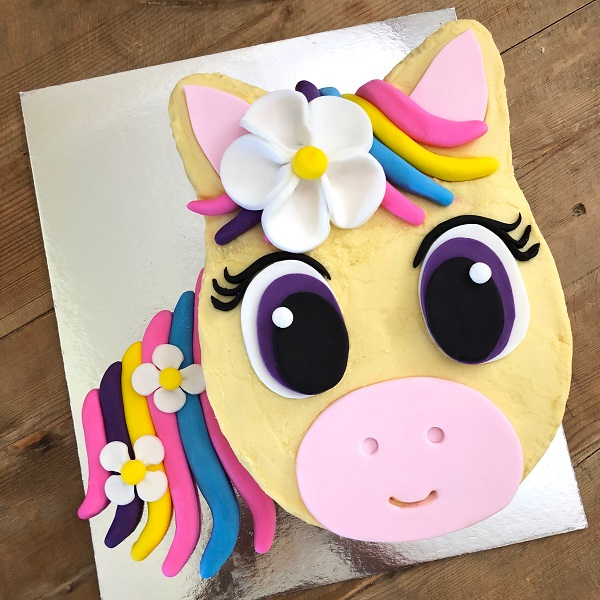 Customise Your Flower Pony Cake Kit A