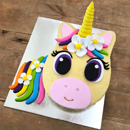 flower unicorn baby shower cake DIY kit from Cake 2 The Rescue