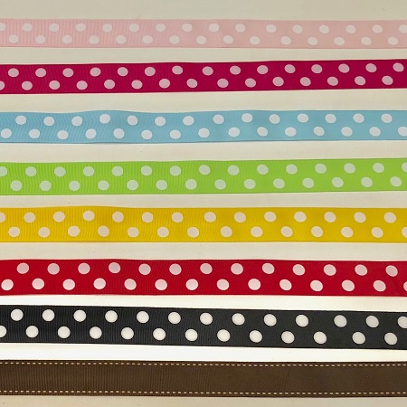 birthday cake ribbon options from Cake 2 The Rescue