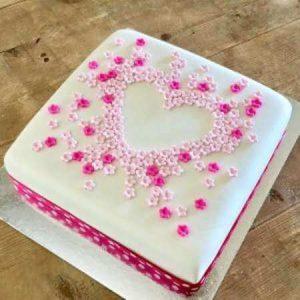 diy-flower-heart-cake-kit-hot-pink-table-450
