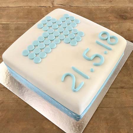 Traditional Cross Diy Christening Cake Kit Cake 2 The Rescue