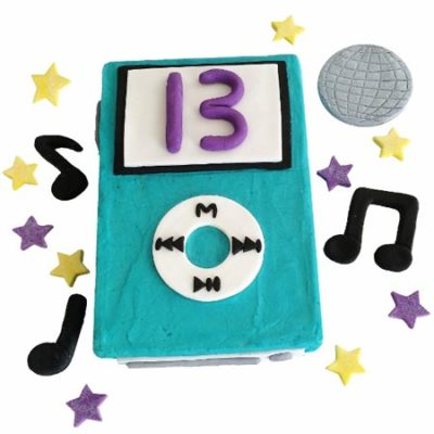 music and ipod birthday boy or girl DIY cake kit from Cake 2 The Rescue