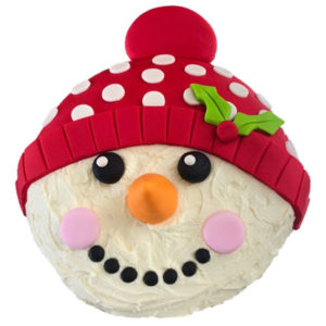 Christmas Snowman cake DIY kit from Cake 2 The Rescue
