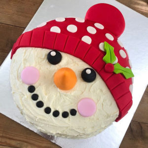 Christmas Snowman DIY cake kit from Cake 2 The Rescue