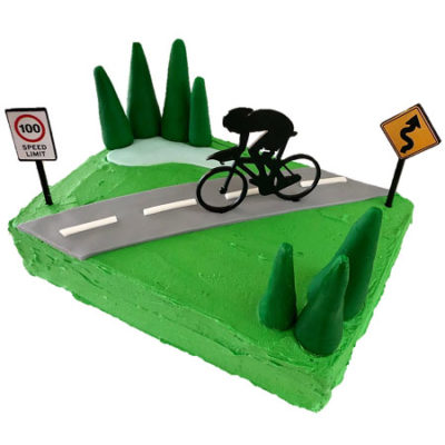 cycling kids birthday cake DIY kit from Cake 2 The Rescue