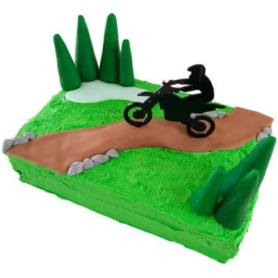 Dirt bike cake teen birthday DIY kit from Cake 2 The Rescue