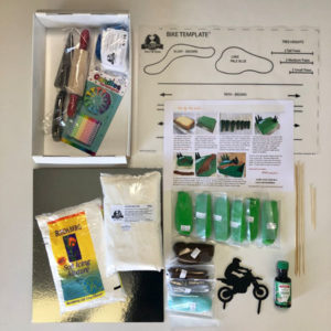 Dirt bike motocross teens birthday cake kit contents from Cake 2 The Rescue