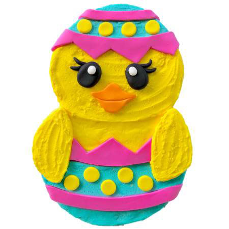 easy easter chick cake DIY kit from Cake 2 The Rescue