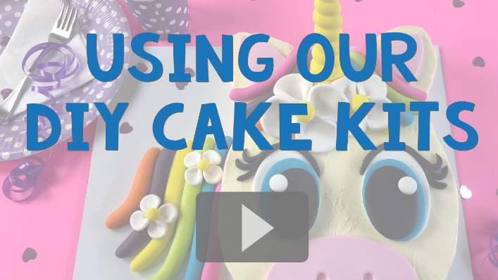 Amazing Birthday Cakes, Party Cakes DIY Kits for Boys Girls