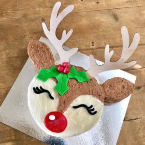 Baby Rudolph Christmas Cake Kit from Cake 2 The Rescue