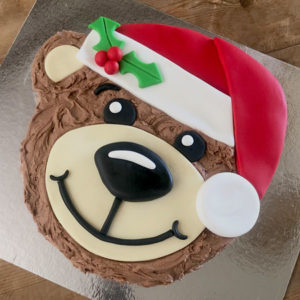 Easy Christmas Teddy Bear Cake Kit from Cake 2 The Rescue