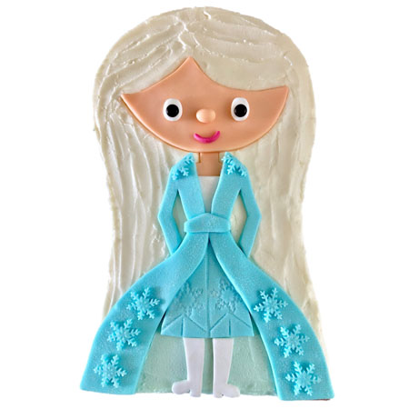 best ice princess frozen inspired birthday cake DIY kit from Cake to the Rescue