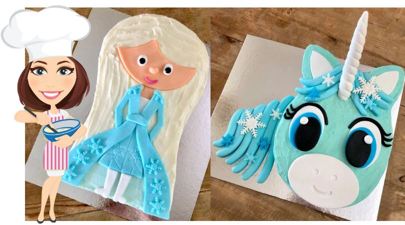 Amazing 5 Easy Frozen Birthday Cake Ideas Cake 2 The Rescue Birthday Cards Printable Opercafe Filternl