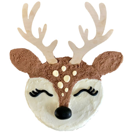 baby deer baby shower cake DIY kit from Cake 2 The Rescue