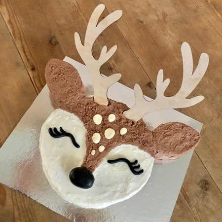 baby deer first birthday DIY cake kit from Cake 2 The Rescue