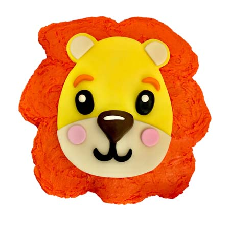 easy baby lion baby shower cake DIY kit from Cake 2 The Rescue