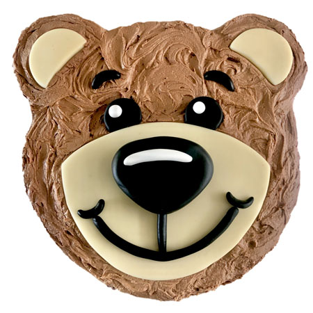 easy teddy bear boy first birthday cake DIY kit from Cake 2 The Rescue