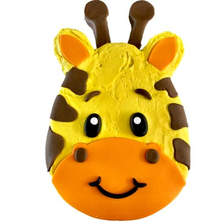 fun baby giraffe first birthday cake DIY kit from Cake 2 The Rescue