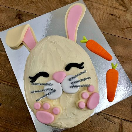 baby bunny Easter dessert idea DIY cake kit from Cake 2 The Rescue