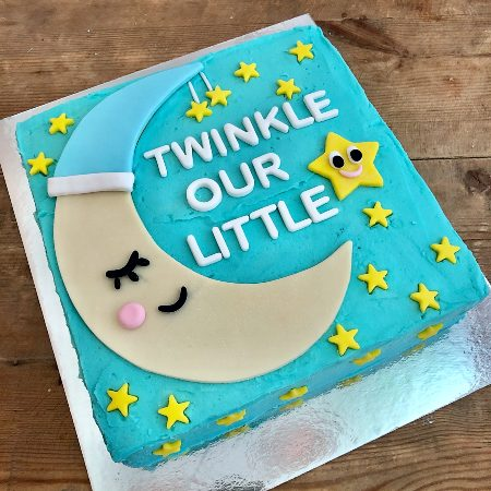 boys first DIY birthday cake kit twinkle little star from Cake 2 The Rescue