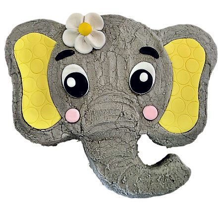 cute baby elephant baby shower gender neutral cake DIY kit from Cake 2 The Rescue