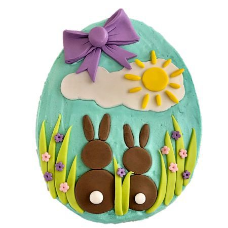 Easter bunny family egg Easter dessert DIY kit from Cake 2 The Rescue