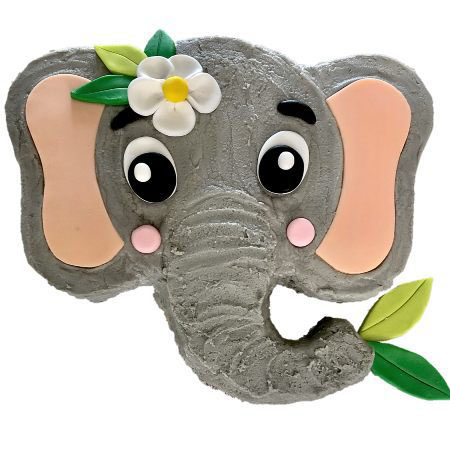 easy baby jungle elephant baby shower cake DIY kit from Cake 2 The Rescue