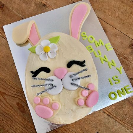 Some Bunny is One First birthday DIY cake kit from Cake 2 The Rescue