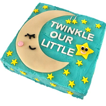 twinkle little star first birthday DIY cake kit from Cake 2 The Rescue