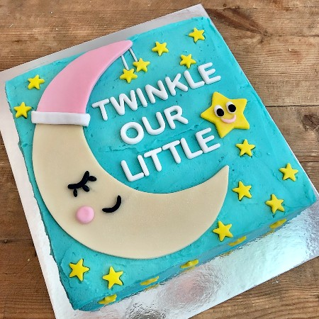 twinkle little star girls first birthday DIY cake kit from Cake 2 The Rescue