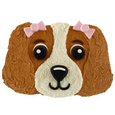 cute puppy birthday cake DIY kit from Cake 2 The Rescue