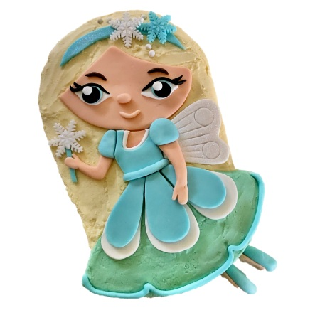 Incredible Frozen Fairy Diy Birthday Cake Kit Cake 2 The Rescue Funny Birthday Cards Online Inifodamsfinfo
