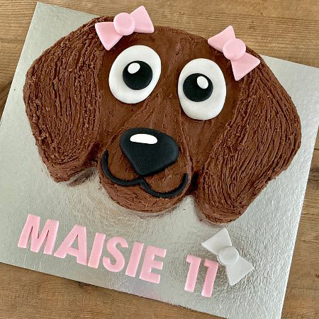 sausage dog birthday party DIY cake kit from Cake 2 The Rescue