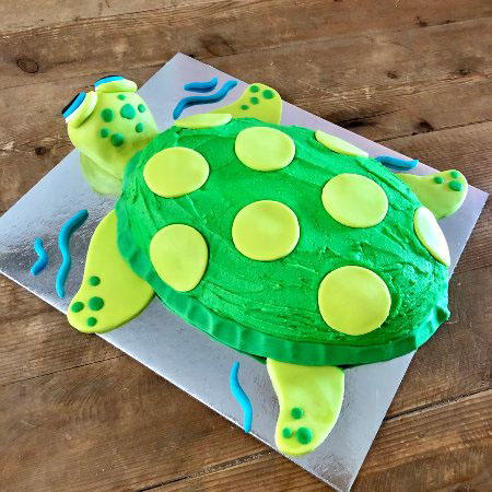 turtle under the sea themed birthday party from Cake 2 The Rescue