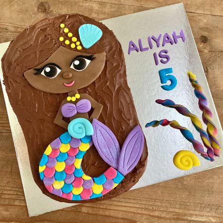 brown-mermaid-cake-DIY-cake-kit-from Cake 2 The Rescue