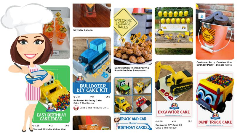 Construction Cakes You'll Dig