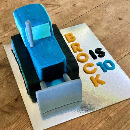 father's day cake ideas bulldozer DIY cake kit from Cake 2 The Rescue