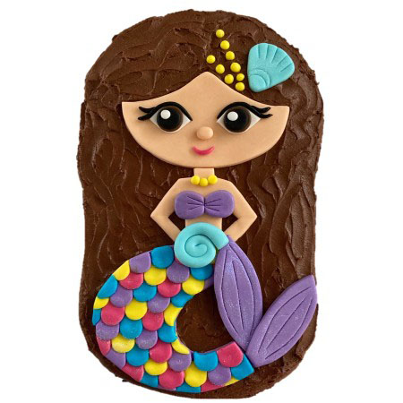 mermaid birthday cake DIY cake kit from Cake 2 The Rescue
